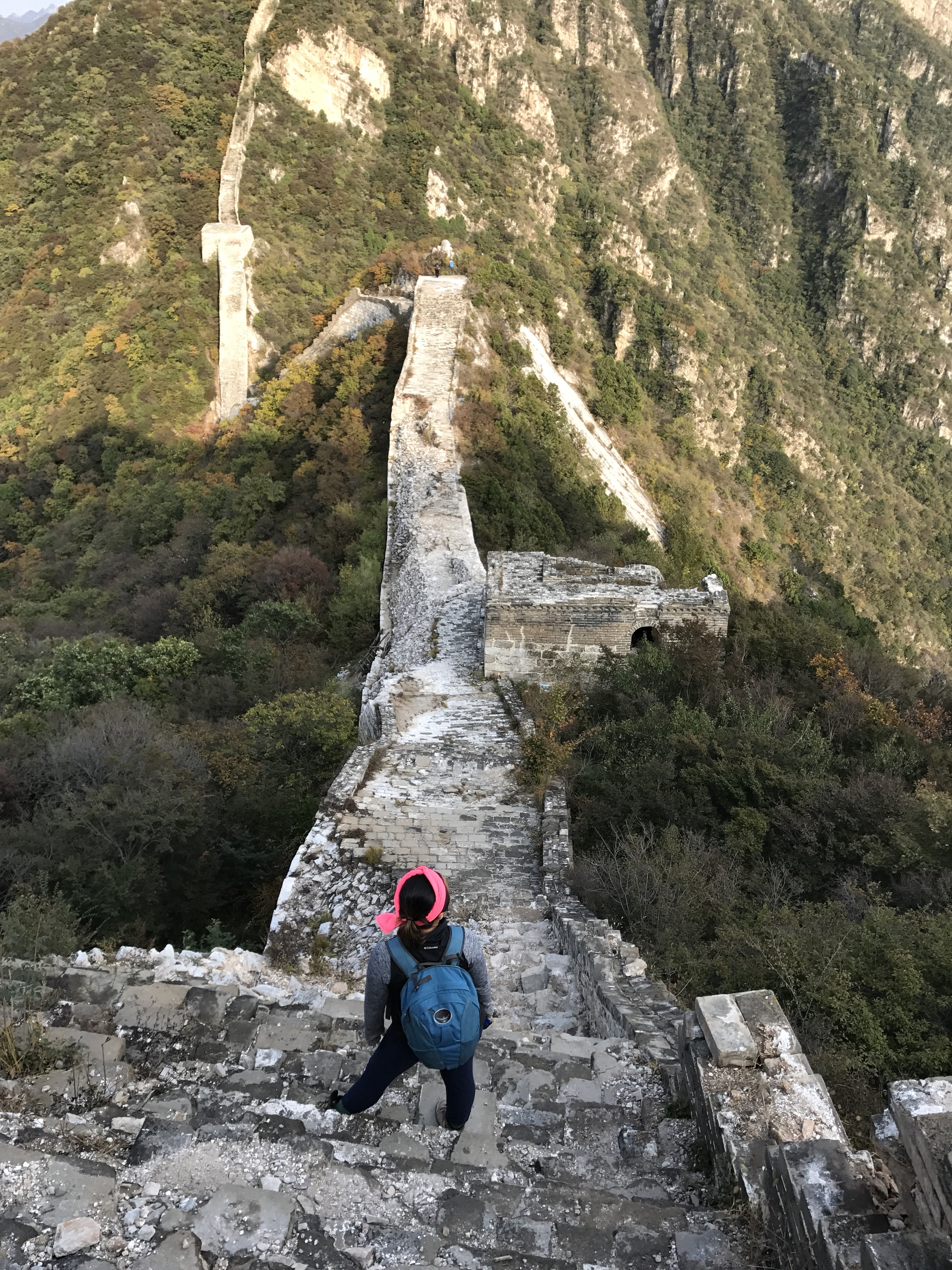hiking the �wild� great wall of china shabbatical