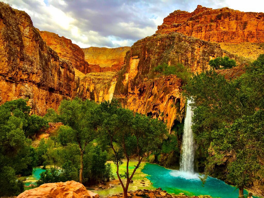 Camping At Havasu Falls Amp Hike To The Confluence Of The